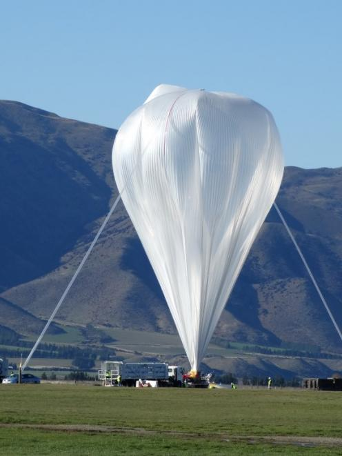 The super pressure balloon will help Nasa conduct near-space scientific investigations. Photo:...
