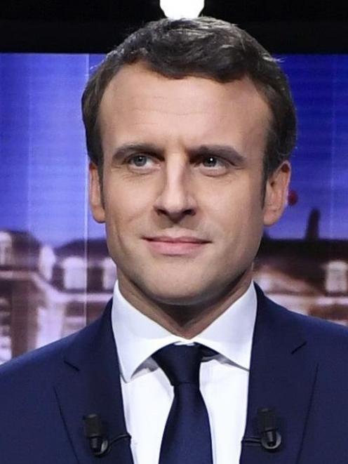 Emmanuel Macron. Photo: Reuters.