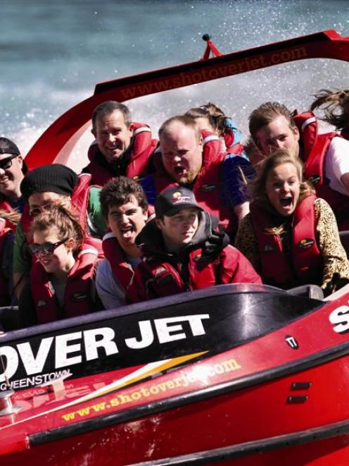 Shotover Jet is the highest-ranking Queenstown attraction in AA Tourism's newly released 101 Must...