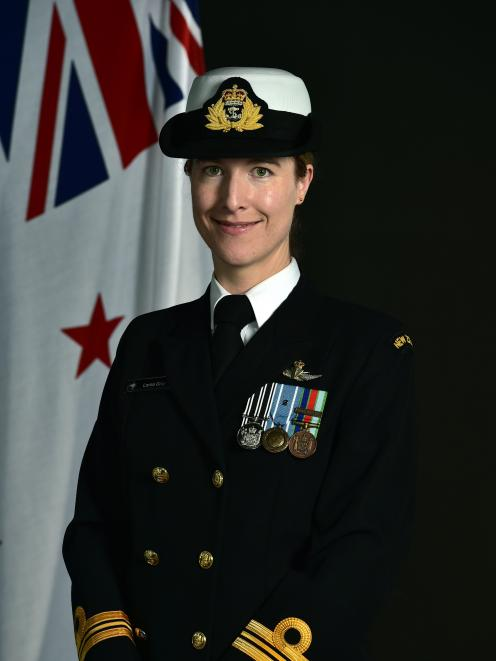 Lieutenant-commander Lorna Gray has been appointed as the first female commander of HMNZS Otago....
