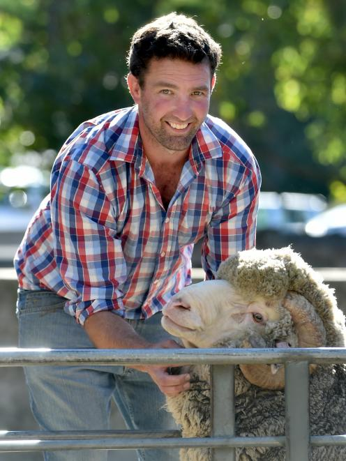 Simon Paterson is the fifth generation of his family to farm Armidale, in the Maniototo. Photo:...