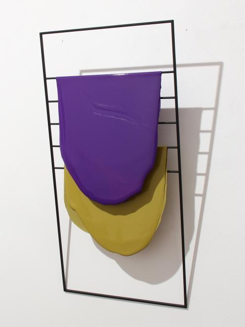 Purple, Ochre (2016), by Helen Calder