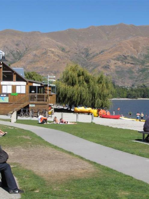 The Roys Bay Reserve is among the areas covered by Wanaka's draft lakefront reserves management...