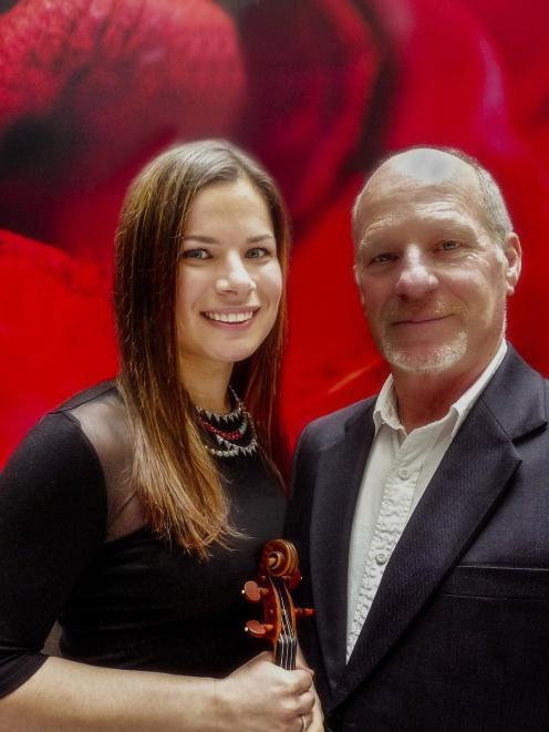 Bella Hristova and Michael Houstoun  are in Dunedin next week. Photo: Supplied