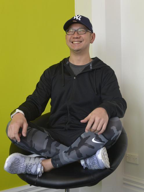PocketSmith co-founder Jason Leong in the company's headquarters in Dunedin. Photo: Gerard O'Brien.