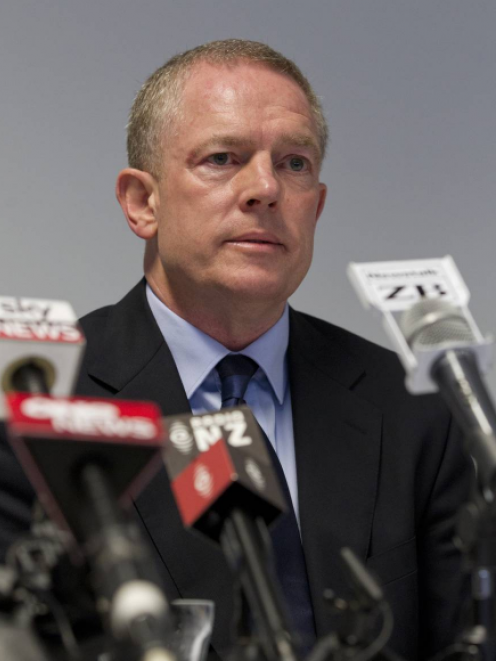 Ministry of Social Development chief executive Brendan Boyle has been told his conduct was not acceptable. Photo: NZME