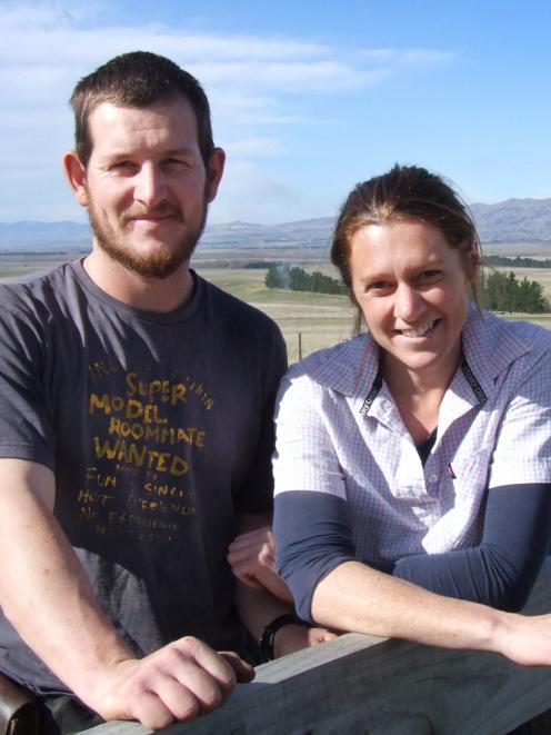 Kyle Hagen and Emma Crutchley.