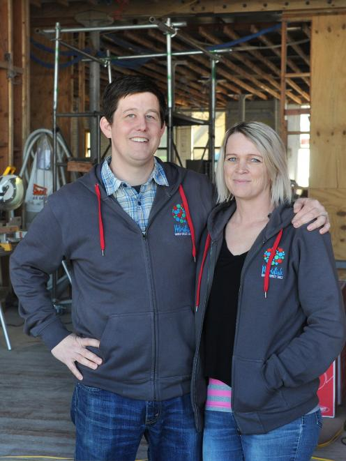 Jason and Kate Lindsey. of shared business space company Petridish, in Stafford St, Dunedin. ...