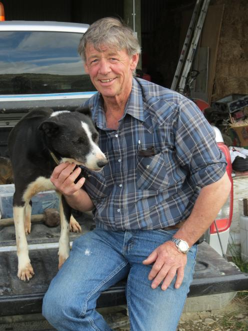 Former farmer Ken Gillespie, of Oturehua, spends much of his retirement working for his community. PHOTO: YVONNE O'HARA