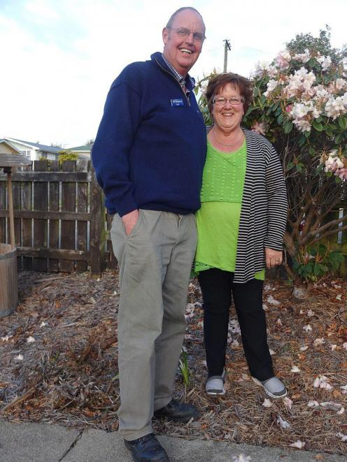 Geoff and Lois Davis, who are retiring and moving from Palmerston after 43 years in the town. Photo: Bill Campbell