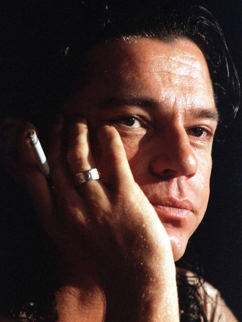 The late Michael Hutchence, of INXS fame. Photo: Reuters