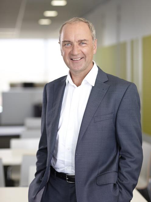 New Skyline Enterprises chief executive Geoff McDonald. Photo: Philip Chandler