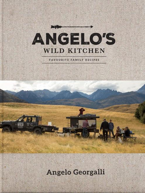 Angelo's Wild Kitchen, by Angelo Georgalli, Beatnik Publishing.  RRP $44.99, beatnikshop.com.