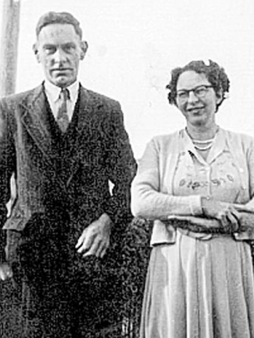 Mr and Mrs Brinsdon in the late 1930s. Photo: Supplied