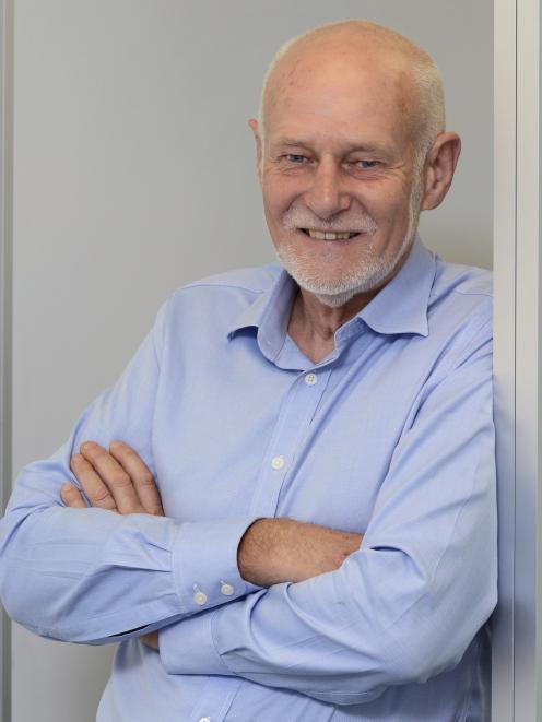 Former Labour Party MP Pete Hodgson. Photo: Gerard O'Brien