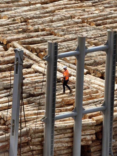 Concerns are growing Chinese log demand will leave New Zealand short for domestic building;...