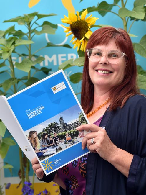 University of Otago summer school and continuing education director Dr Elaine Webster. Photo:...