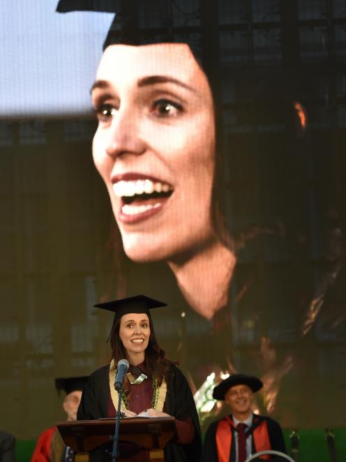 Prime Minister Jacinda Ardern shares her experience of being a student with 4000 first year...