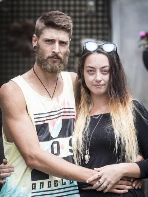 Jack Vanbiljon, left, and his girlfriend Casey Halpin, are struggling to move on after one of...