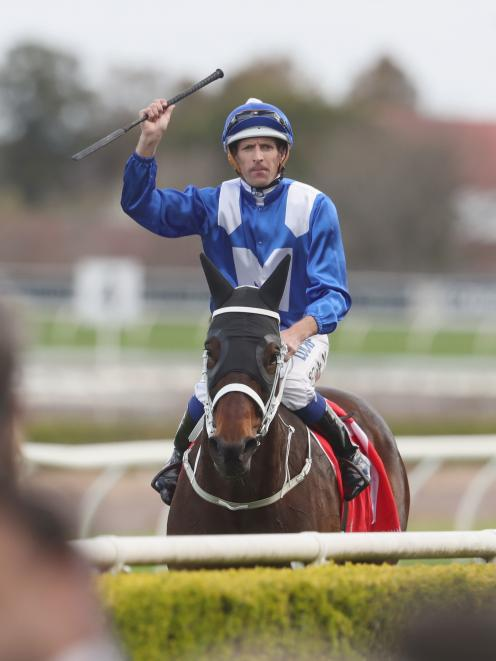Hugh Bowman and Winx. Photo: Getty Images