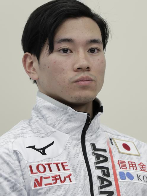 Japanese speed skater Kei Saito. Photo: Getty Images