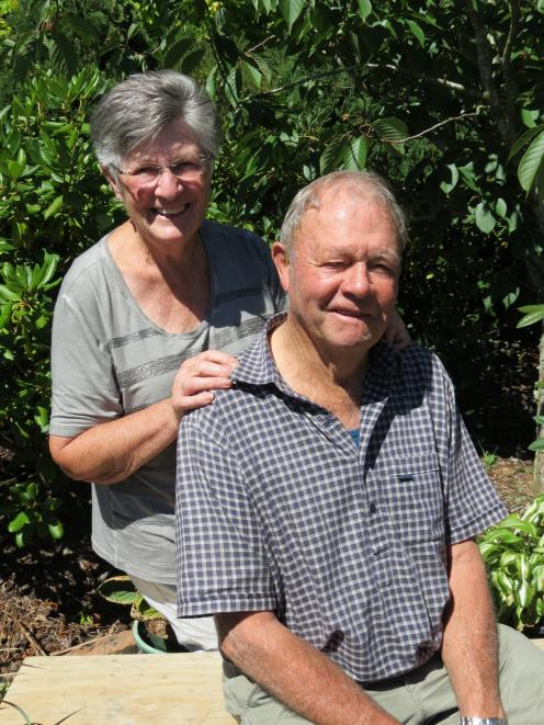 Anne and John Benington, of Lawrence, have farmed in the district for many years and are still involved with the business. Photo: Yvonne O'Hara
