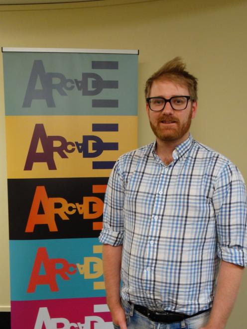 Alex Wilson, back in Dunedin to continue his studies, leads the new Arcade Theatre Company. PHOTO: BRENDA HARWOOD