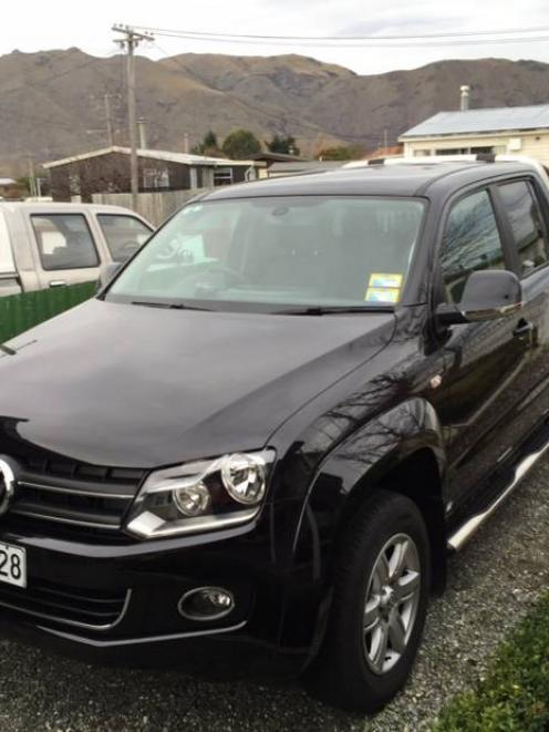 The 2013 Volkswagen Amarok purchased by Steve and Diane Loach. Photo: NZ Herald / Supplied