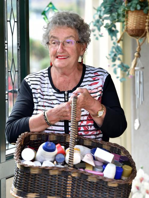 Avon rep Coleen Williamson has sold products for the company for 39 years, and is shocked Avon is leaving New Zealand. Photo: Peter McIntosh