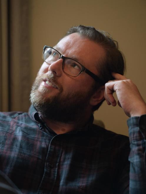Scottish writer and author Damian Barr contemplates his next move — memoir or novel?