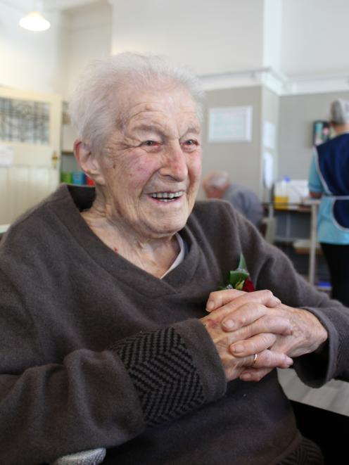 Greymouth centenarian Jean Mosley turned 103-years-old yesterday. Photo: Greymouth Star