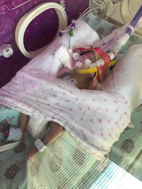 Image result for Mum has heart attack as she visits prem baby in hospital