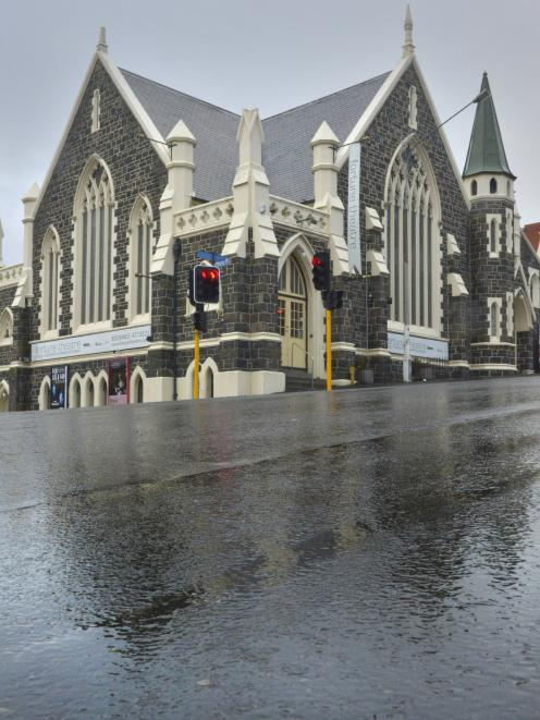 Dunedin's Fortune Theatre closed its door earlier this week. Photo: ODT
