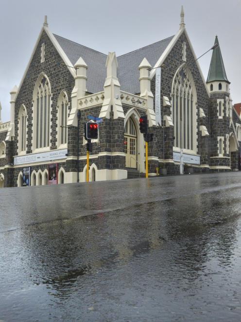 Closed ... The Fortune Theatre. PHOTO: GERARD O'BRIEN