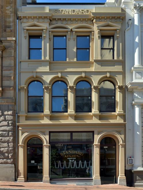 The restored Standard Kitchen building in Princes St, Dunedin. Photo: ODT files