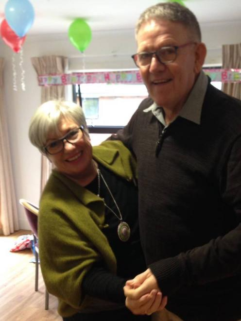 Ruth Schumann and her husband Dennis. Photo: Supplied via NZME