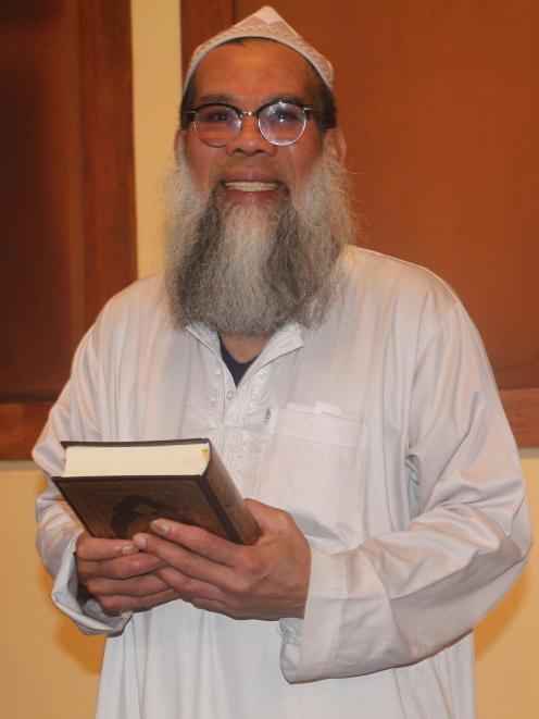 Imam (leader) of the mosque, Zamberi Bin Matyunus, says the community is welcome to visit. Photo:...
