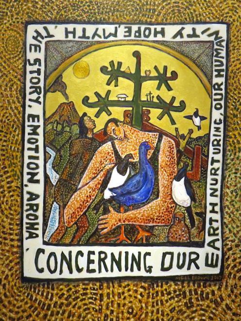 Concerning Our Earth Nurturing, by Nigel Brown