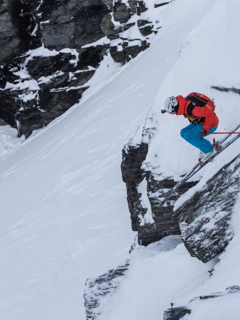 Wanaka freeride skier Sam Lee (pictured) is excited about next week's freeride world qualifer at...