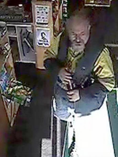 This man is alleged to have stolen  $200 worth of alcohol  from Liquorland Cableways in May....