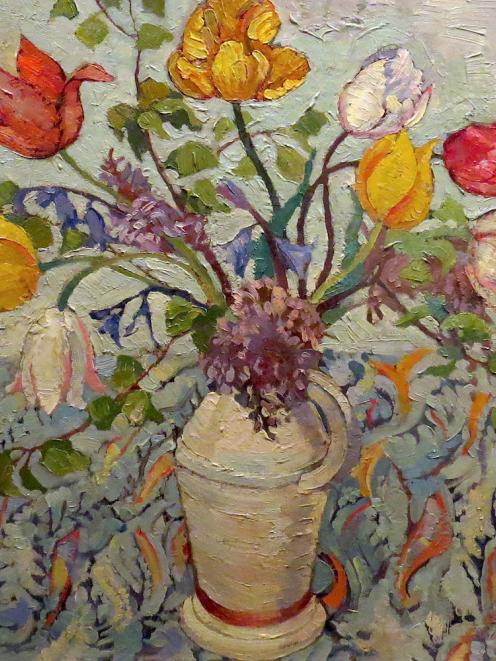 Untitled (Flower Study), by Doris Lusk.