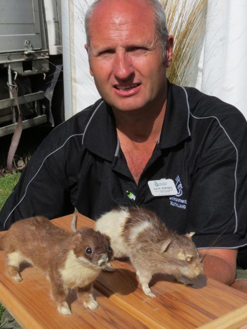 Environment Southland's senior biosecurity officer Dave Burgess encourages people to make...