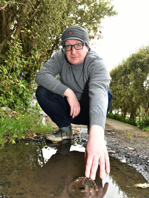 Sam Sharpe has been trying to get the Dunedin City Council to fix a leaking toby for nearly a...