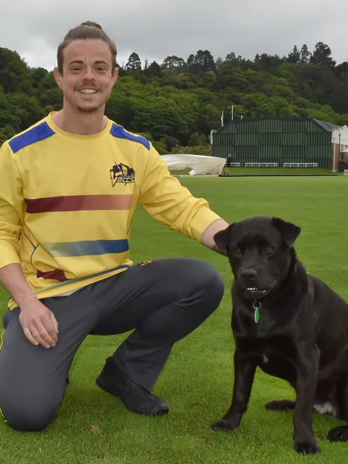 Otago strength and conditioning coach Blaine Clancy and his dog Maley have teamed up to help get...