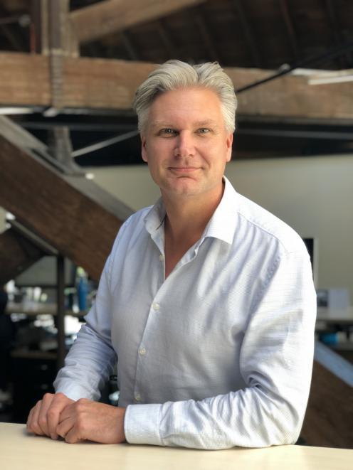Tony Gilbert is chief executive of Dunedin-based company Arinui Ltd. Photo: Supplied