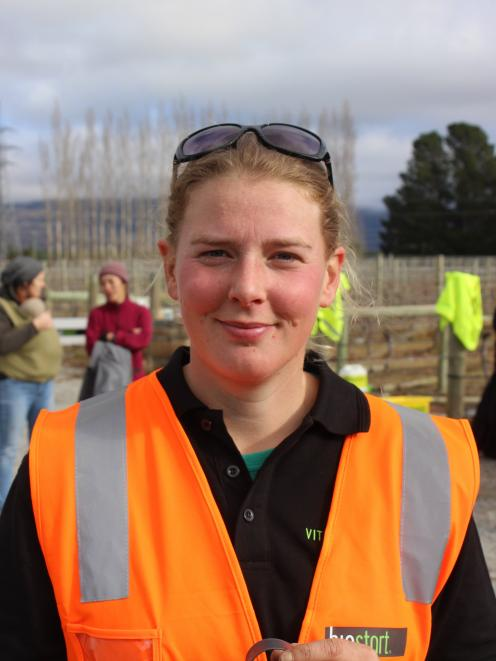 Young Viticulturist of the Year, Annabel Bulk. PHOTO: ODT FILES