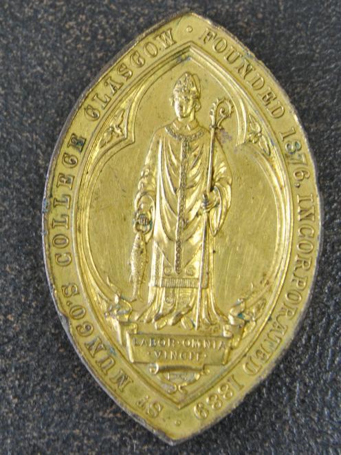 Chaffer Medal.