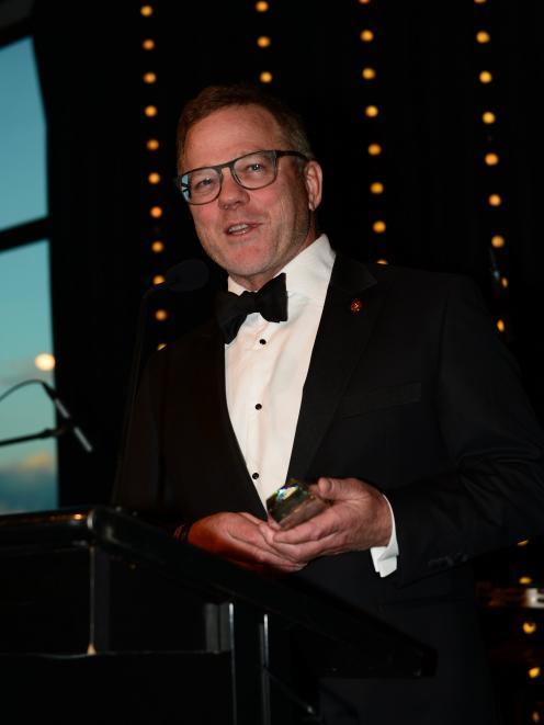 Lifetime Achievement Award winner Henry van Asch.