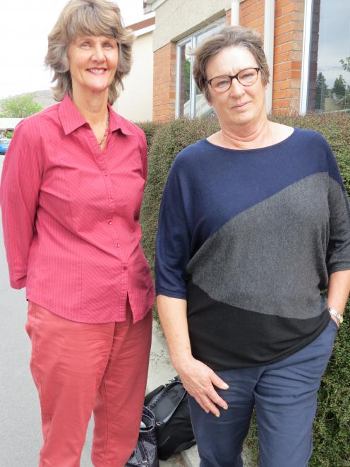 Ensuring the Central Otago's Recognised Seasonal Employer (RSE) scheme Pacific Island workers are looked after while they are in Central Otago are Juliet Pye, of Alexandra (left), and Seasonal Solutions's chief executive Helen Axby. Mrs Pye is one of six