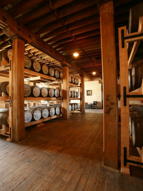The NZ Whisky Collection Oamaru bonded warehouse